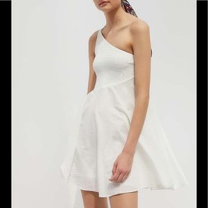 Urban Outfitters white cotton dress